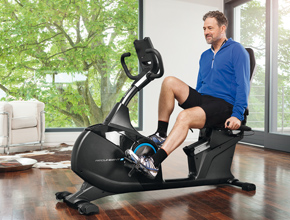 metalsport - recumbent bike linea home fitness